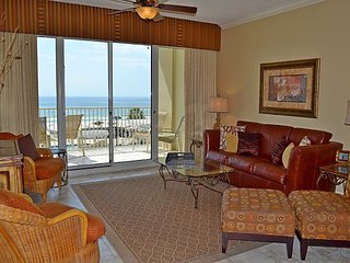 Relax in paradise in remodeled beachfront condo, steps away from the Gulf!
