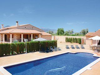 4 bedroom Villa in Binissalem, Balearic Islands, Mallorca : ref 2096035