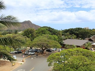 Waikiki Grand Hotel #516 - Studio/1BA, Corner Unit w/ Mountain Views