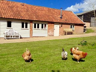 The Nook, a beautiful barn set in idyllic countryside, close to Southwold coast