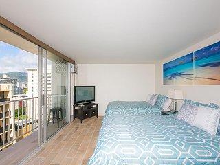 Deluxe Studio / Ocean View / Waikiki #1204