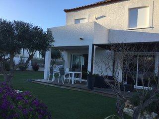 Agreable villa avec son jardin