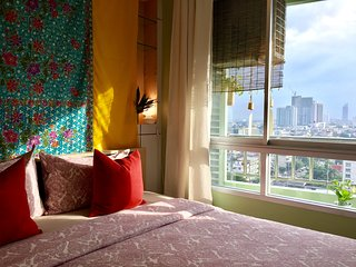 Cozy Sky view apartment at BTS.SAPAN TAKSIN