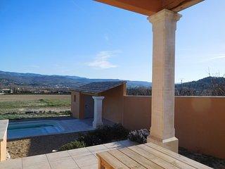 Jolie maison provençale piscine privée vue luberon, Gargas