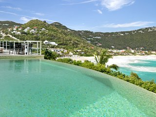 Villa Eimeo amazing view on the Caribbean ocean and the neighboring islands, Gustavia