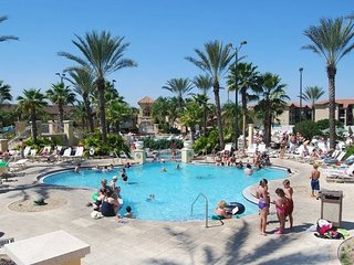 Waterpark Resort with 2 pools, waterslide, lazy river, full spa, golf, and more