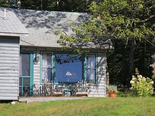 Dog Friendly Cottage on 60 Maine Oceanfront Acres, Brooksville
