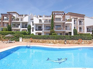 3 Bedr. Apart. with pool, panorama view direkt on Golf court Los Arqueros Club, Nueva Andalucia