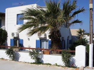 Hermes Villa,  Aliki, , 5 personnes,, familial, au calme, tout près de la plage.