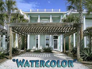 Watercolor - Private Pool & Rooftop Sundeck! 3 BR/3.5 BTH. Beautiful!, Panama City Beach