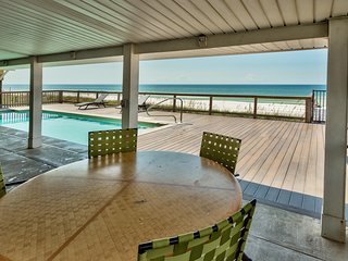 Seas the Day - Incredible 5 Bedroom Home - with Private 30' Beachfront Pool!