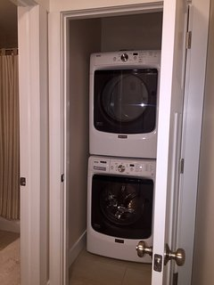 Full Size HE washer and dryer