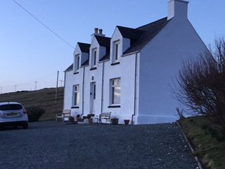 FAMILY FRIENDLY COTTAGE - AMAZING SEA VIEWS IN LOVELY WATERNISH PENINSULA