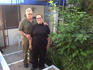 Marlis et Richard de Kakabeka Falls, en Ontario. Les propriétaires de Hôtel Kakabeka Falls Motor.