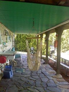 Outdoor kitchen (indoor kitchen not pictured)