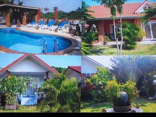 Suwangarden Bungalow Anlage in tropischem Garten mit Pool/ Thailand  Individual