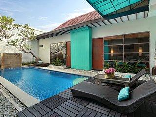 Cozy 4 Bedroom Private Pool Villa in Legian