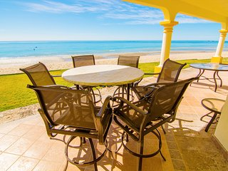 Stunning 4 Bedroom Beach Villa on Sandy Beach at Las Palmas Beachfront ResortV18