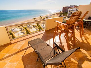 Spectacular 2 Bedroom Condo on Sandy Beach at Las Palmas Resort B-704