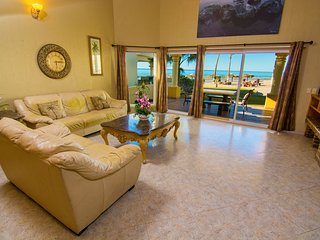 Stunning 4 Bedroom Beach Villa on Sandy Beach at Las Palmas Beachfront Resort V6