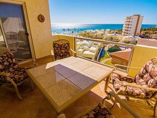 Beautiful 1 Bedroom Condo on the Sea of Cortez at Las Palmas Resort D-502