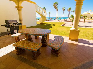 Stunning 4 Bedroom Beach Villa on Sandy Beach at Las Palmas Beachfront Resort V7