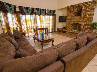 Stunning 4 Bedroom Beach Villa on Sandy Beach at Las Palmas Beachfront Resort V7