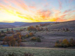 Sunrise from The Den