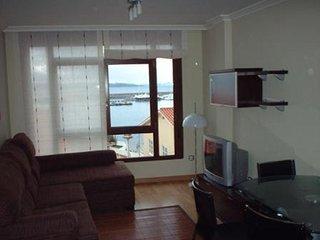 Apartamento de 2 habitaciones en 1ª línea de playa, Sanxenxo