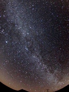 The Milky Way over Glen View
