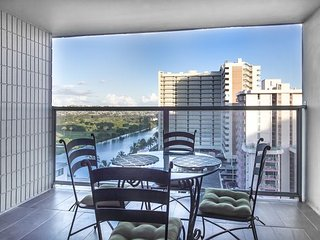 Studio unit with large 116 sq. ft. balcony. Upgraded with extended kitchen!