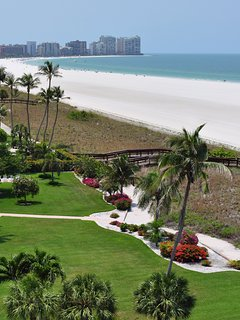Marco Island's Famous Beach is Easy to Get to
