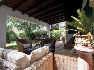 Charming contemporary style semi-detached Villa Artola Baja Cabo Pino Marbella