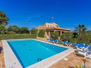 Sullastre Verd, villa con piscina y wifi