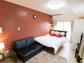 Near station/shopping street! max4+P-wifi&TV!#MS7, Shinagawa