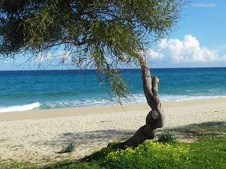 Villetta sulla spiaggia di Calasinzias, Cala Sinzias