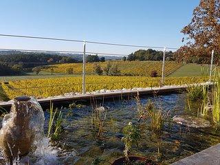 La Gironie: charme, quietude. 4 etoiles  et 4 cles du tourisme de Dordogne.