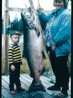 1996 Kenai Peninsula King Salmon Derby 2nd Place Winner!