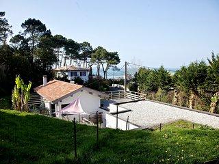Maison face à la mer, la plage à 5 min à pied, Saint-Jean-de-Luz