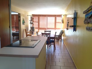 Vistamar F-411 beachfront 2 bedroom penthouse apartment, A/C, open terrace, Cabo Rojo