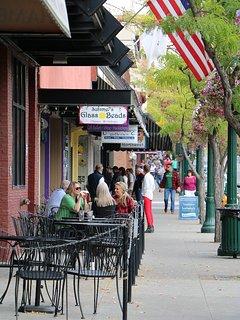 Downtown Coeur d'Alene.
