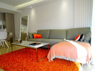 Appartement 90m2 3 ch centre carre d'or 200m des plages - face au Carlton