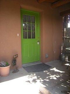 Entrance to Casita E