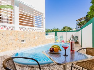 Algarve Private Beach VILLA with climatized pool