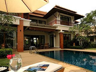Classic Golf View Villa in Bangtao, Chalong