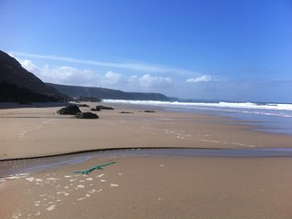 Beautiful house with amazing sea views, enclosed garden, walk to beach, Porthtowan