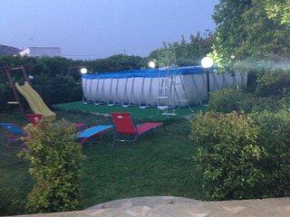 Villa economica,Piscina, barbecue, gazebo, parco giochi adatta alle famiglie