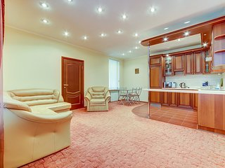 1-bedroom apartments on Nevsky, 63 (2-4 persons)