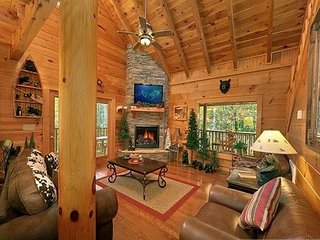 CEDAR FOREST-LUXURIOUS 3 STORY 1/3 + LOFT+THEATER, Sevierville