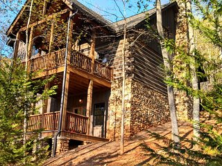 Cabin 1 - Relax in Luxury - Surrounded by Nature!!!, Franklin